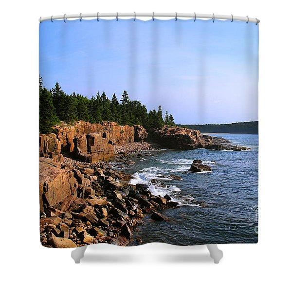 Acadia Coast Shower Curtain