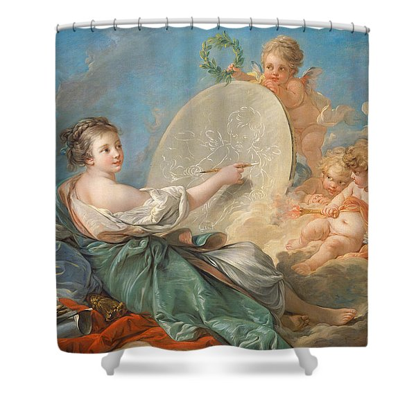 Allegory Of Painting Shower Curtain