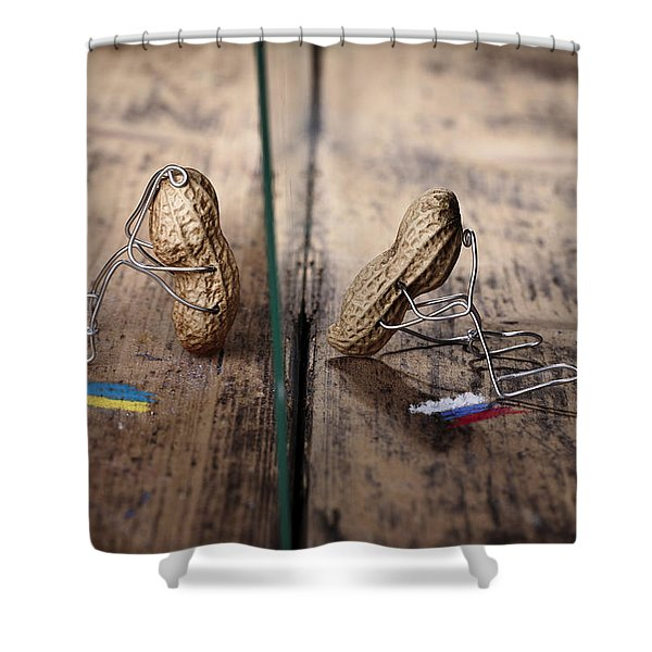 Apart Shower Curtain