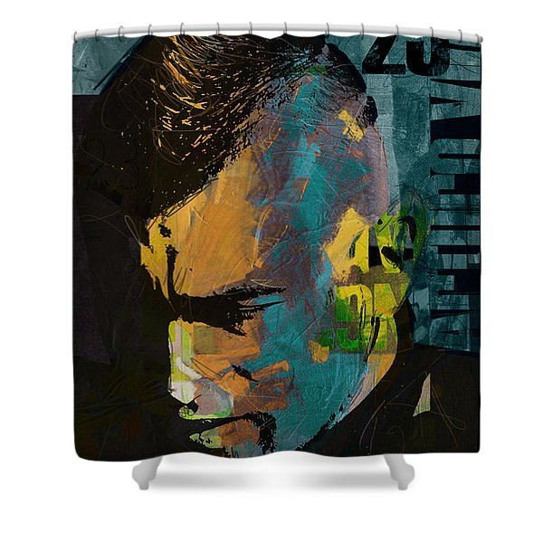 Arturo Vidal Shower Curtain