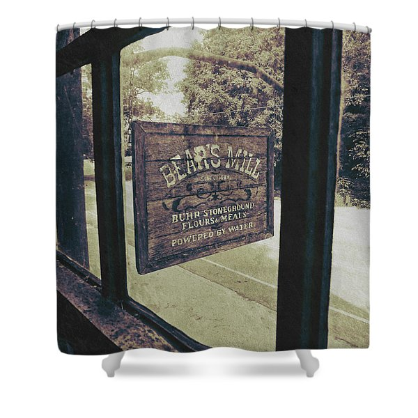Bear's Mill Shower Curtain