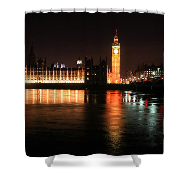 Big Ben And The Houses Of Parliament Shower Curtain