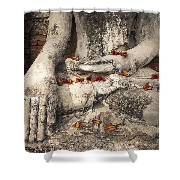 Buddha Shower Curtain