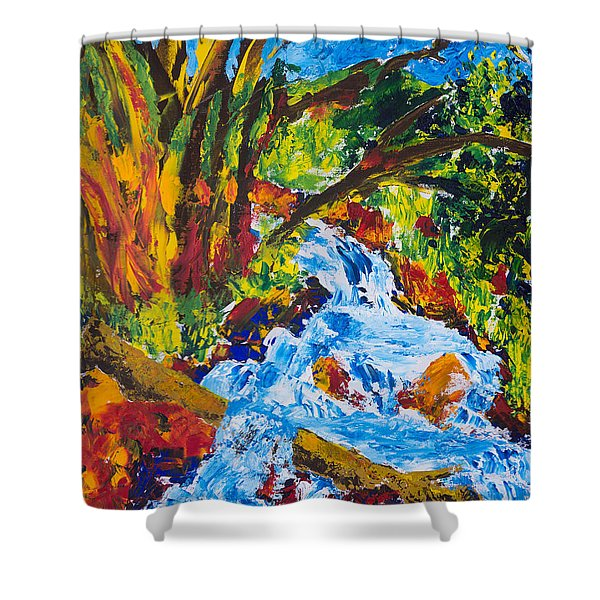 Burch Creek Shower Curtain
