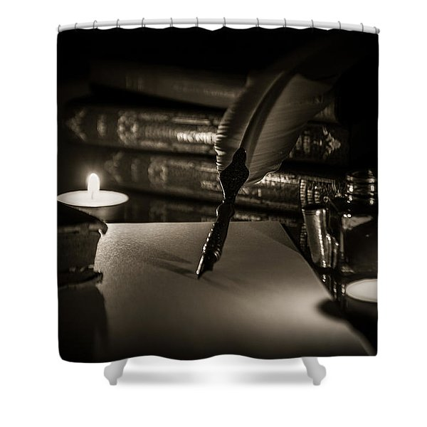 Candlelight Fantasia Shower Curtain