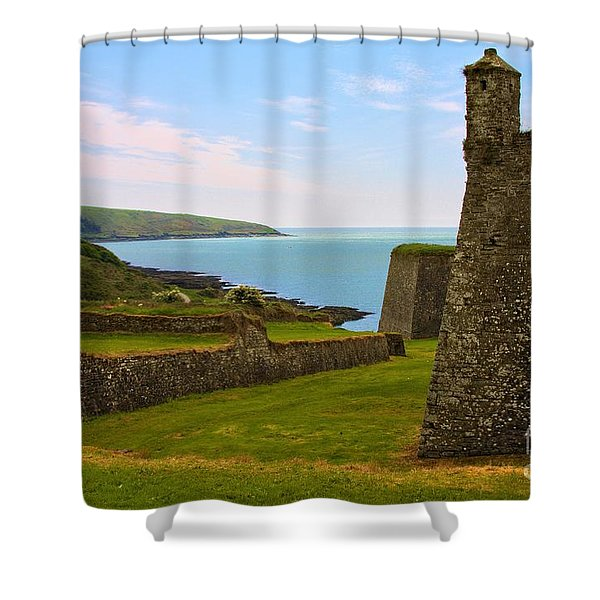 Charles Fort Kinsale Shower Curtain