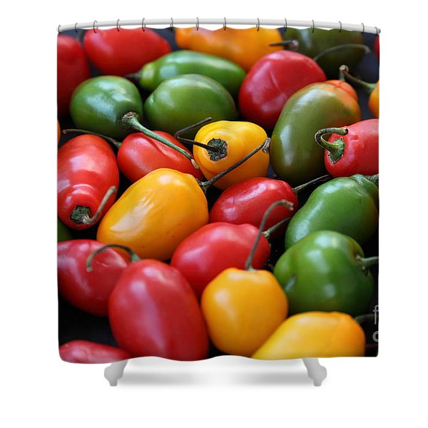 Chili Peppers Shower Curtain