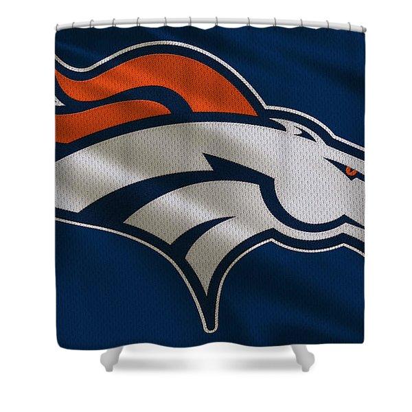Denver Broncos Uniform Shower Curtain