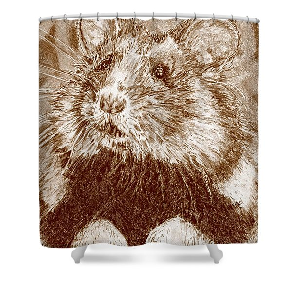 Did Someone Say Nuts Shower Curtain