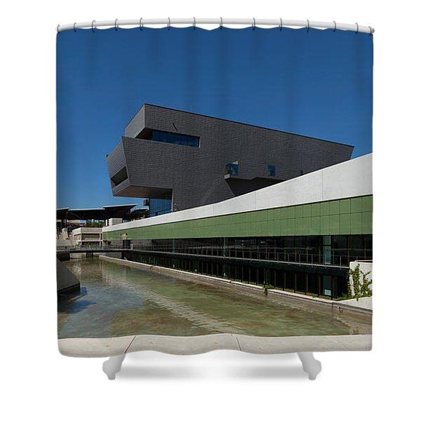 Disseny Hub Barcelona Design Museum Shower Curtain