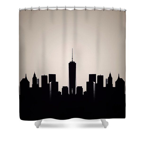 Downtown Deco Shower Curtain