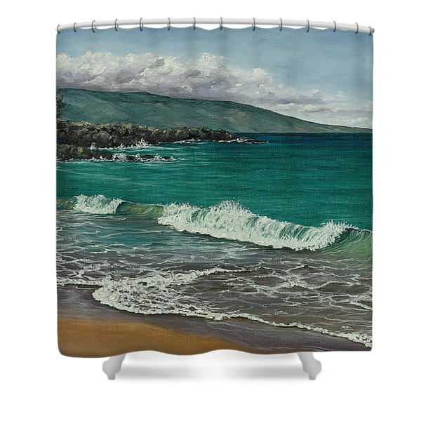 Dt Fleming Beach Shower Curtain
