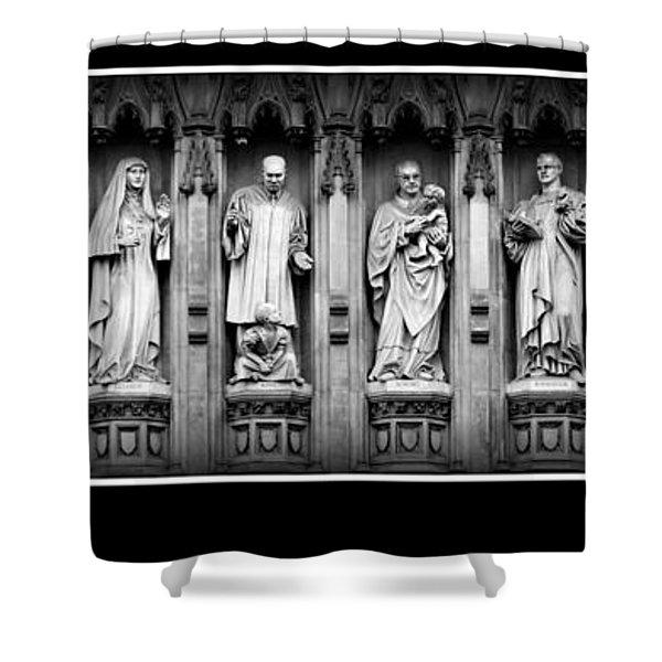 Faithful Witnesses -- Poster Shower Curtain