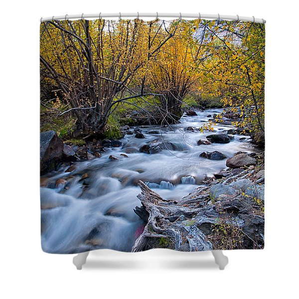 Fall At Big Pine Creek Shower Curtain