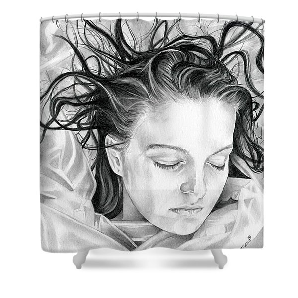 Forget Me Not - Laura Palmer - Twin Peaks Shower Curtain