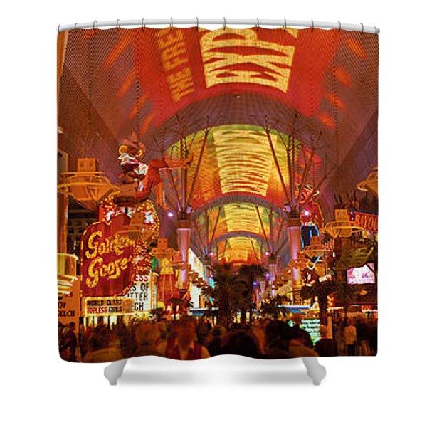 Fremont Street Experience Las Vegas Nv Shower Curtain