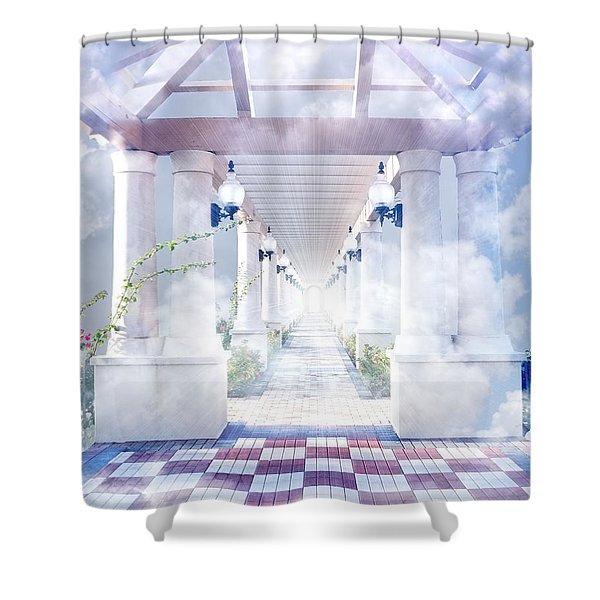 Gateway To Heaven Shower Curtain