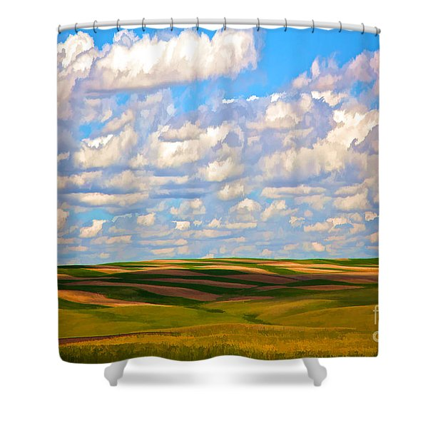 Great Plains Shower Curtain