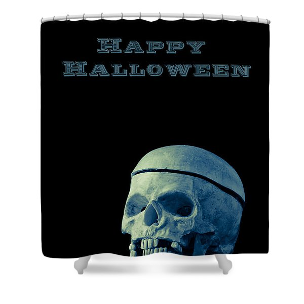 Happy Halloween Card 2 Shower Curtain