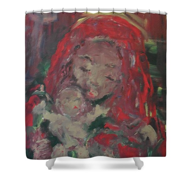 Shower Curtain featuring the painting Hope  by Laurie Lundquist