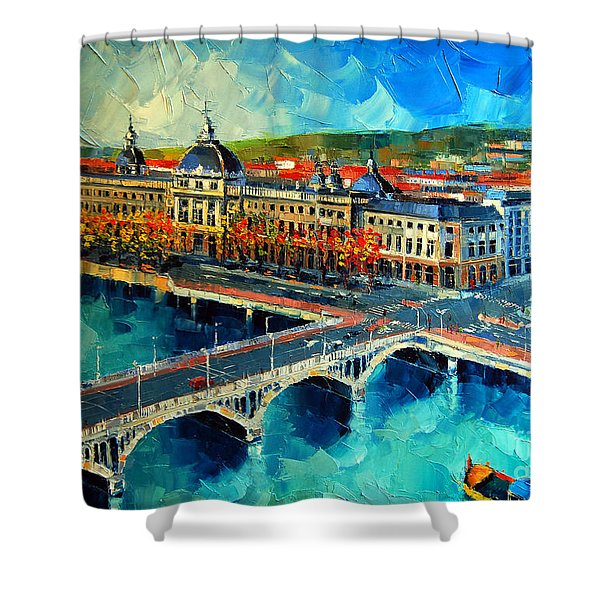 Hotel Dieu De Lyon Shower Curtain