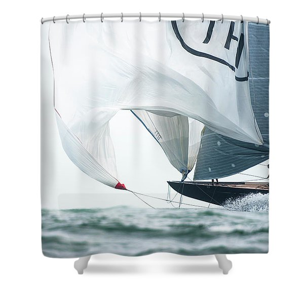 J Class World Championship 2017 Shower Curtain