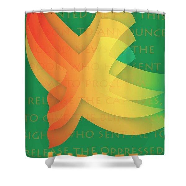Jubilee Shower Curtain