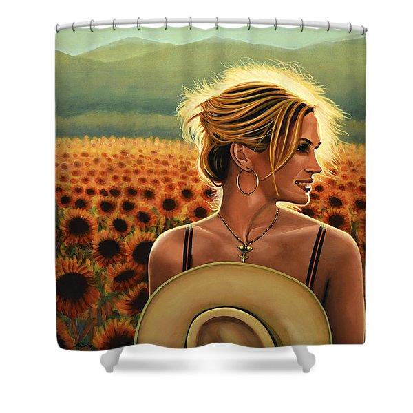 Julia Roberts Shower Curtain