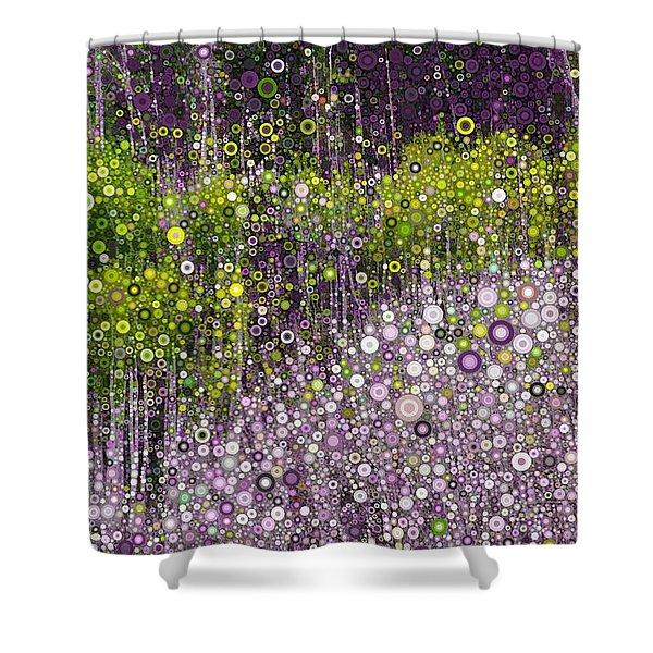 Just Beyond Emerald City Shower Curtain