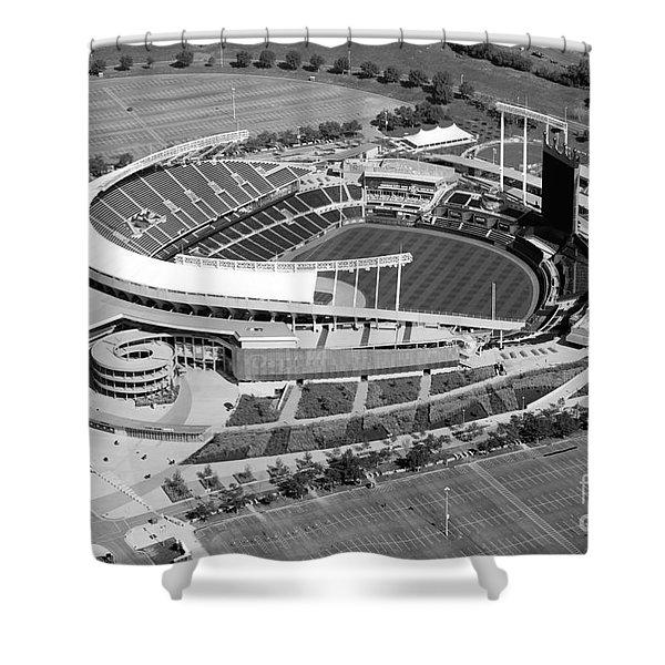 Kauffman Stadium Kansas City Missouri Shower Curtain