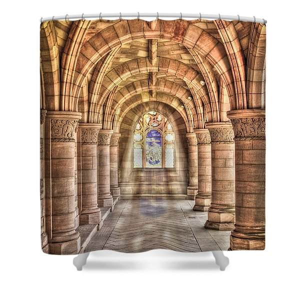 Kelso Abbey Shower Curtain