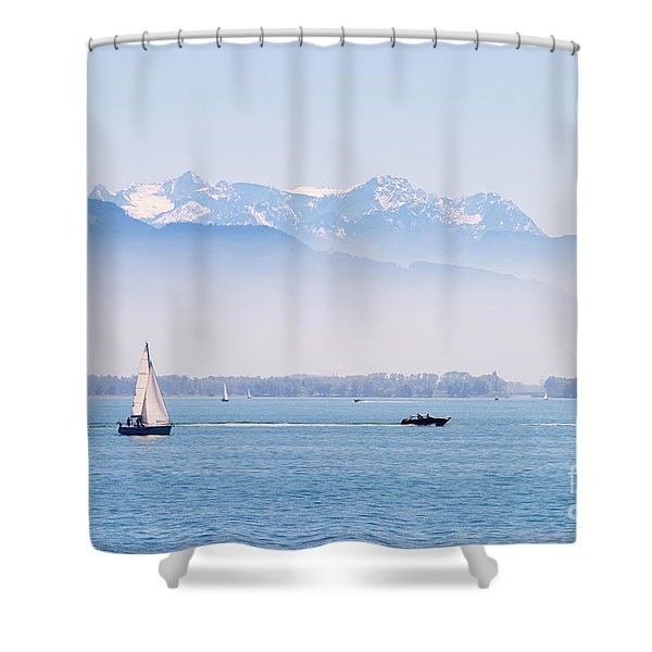 Lake Of Constance Shower Curtain