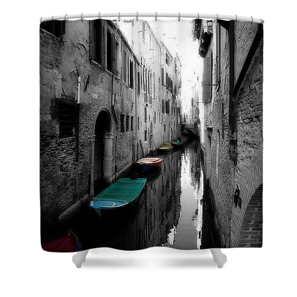 L'aqua Magica Shower Curtain