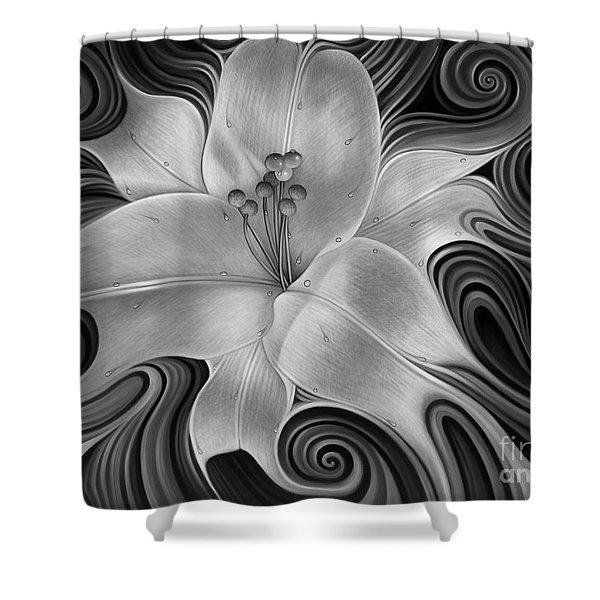Lirio Dinamico Shower Curtain