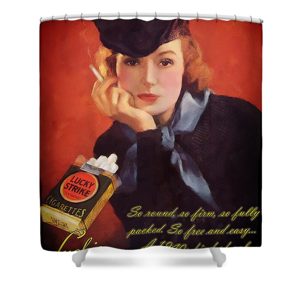Luckie Shower Curtain
