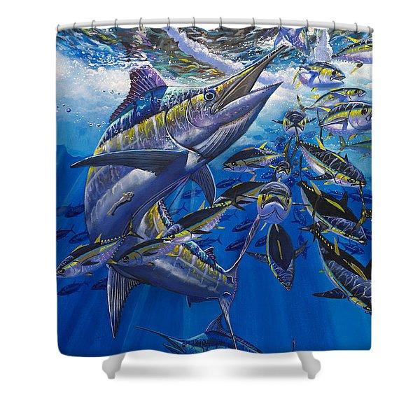 Marlin El Morro Shower Curtain