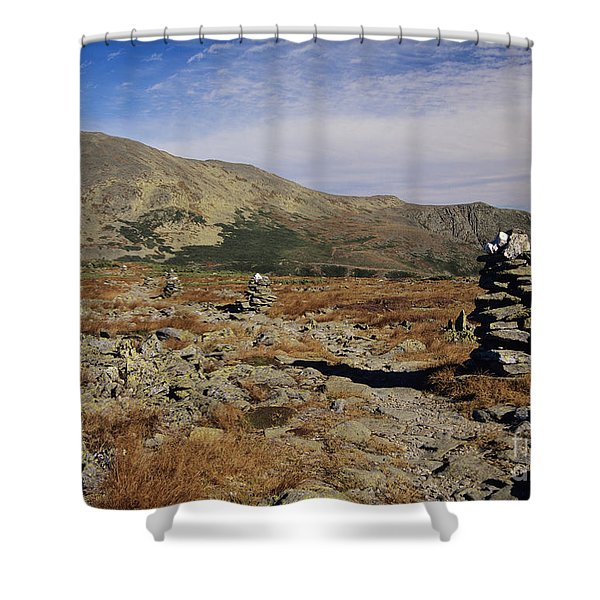 Shower Curtain featuring the photograph Mount Washington - White Mountains New Hampshire by Erin Paul Donovan