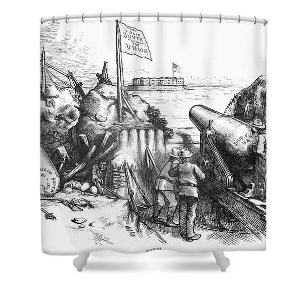 Nast Election, 1876 Shower Curtain