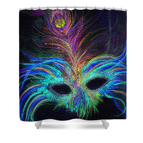 New Orleans Intrigue Shower Curtain