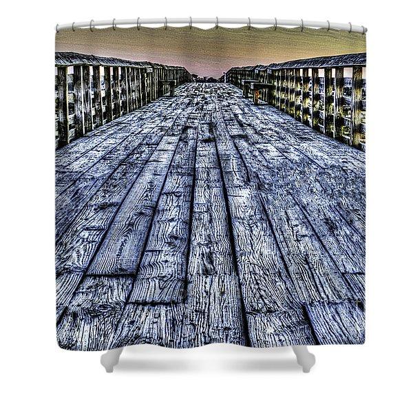 Old Pitt St Bridge Shower Curtain
