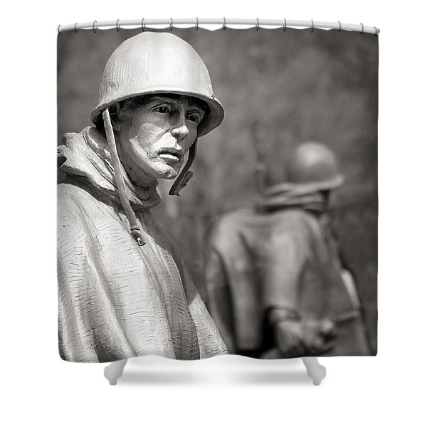 In Our Nation's Service Shower Curtain