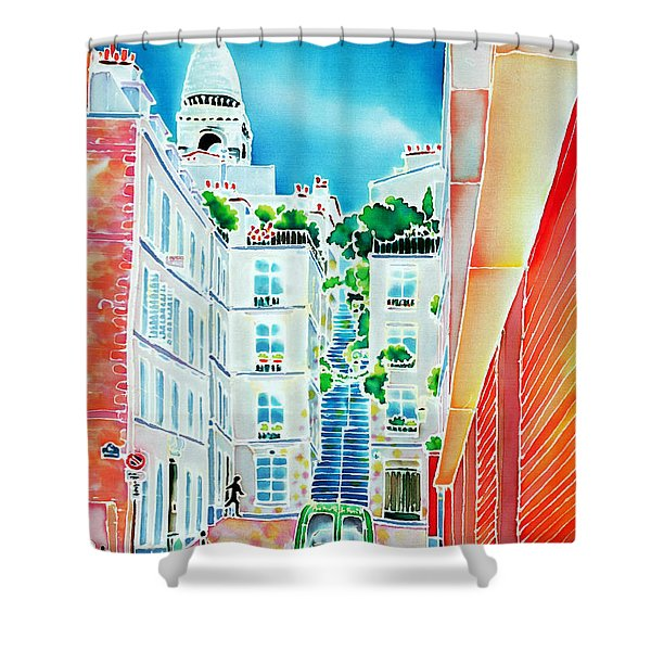 Passage Cottin Shower Curtain