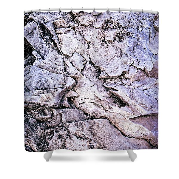 Rocks At Georgian Bay Shower Curtain