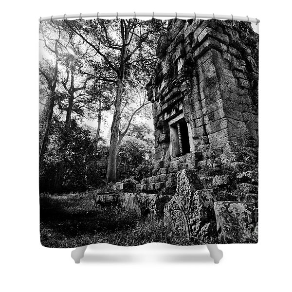 Ruin At Angkor Wat Shower Curtain