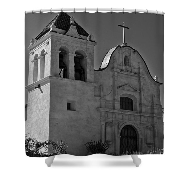 San Carlos Cathedral Shower Curtain