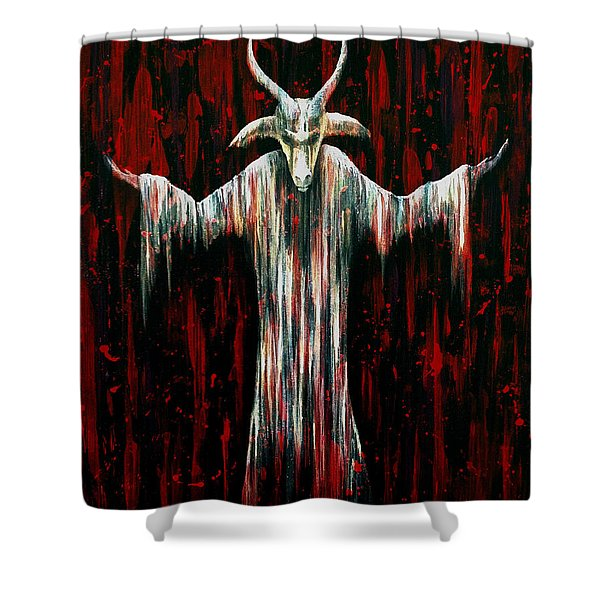 Savior Shower Curtain