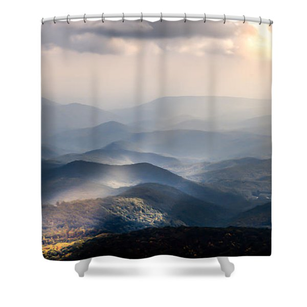 Sound The Trumpets Shower Curtain