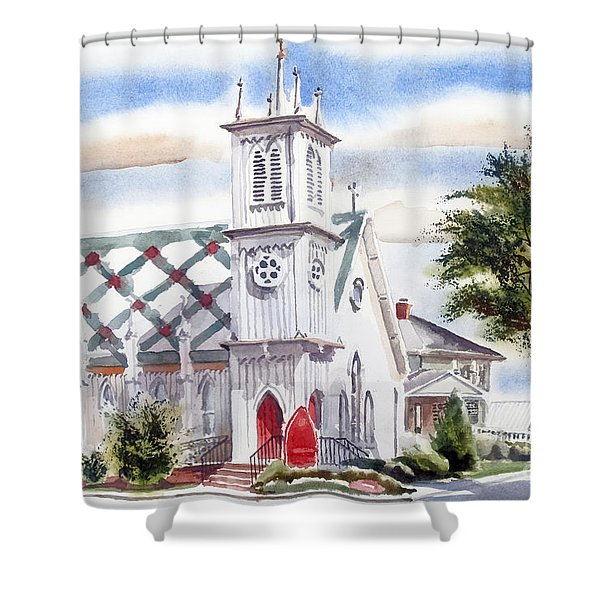 St Pauls Episcopal Church  Shower Curtain