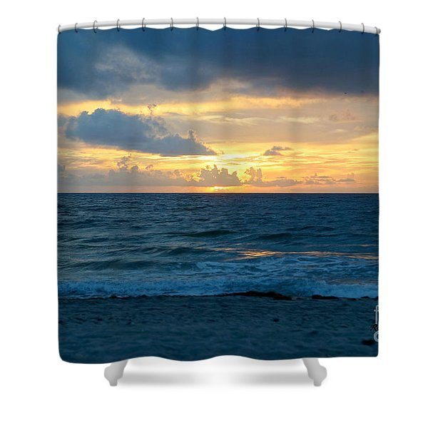 Sunrise In Deerfield Beach Shower Curtain