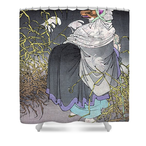 Taiso Aspects Of The Moon Shower Curtain